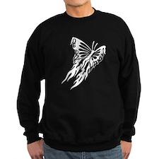 Tribal Butterfly Fire Sweatshirt