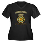Maricopa County Sheriff Pilot Women's Plus Size V-