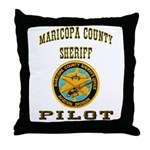 Maricopa County Sheriff Pilot Throw Pillow