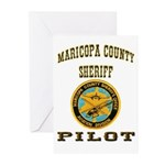 Maricopa County Sheriff Pilot Greeting Cards (Pk o