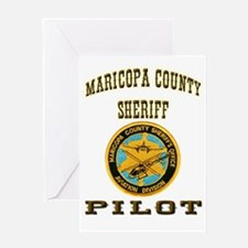Maricopa County Sheriff Pilot Greeting Card