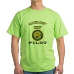 Maricopa County Sheriff Pilot Green T-Shirt