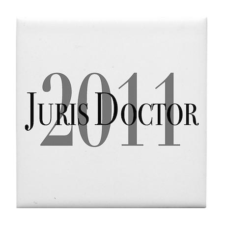 Juris Doctor 2011 Tile Coaster