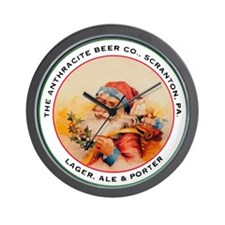 The Anthracite Beer Company Wall Clock