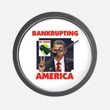DESTROYING AMERICA Wall Clock