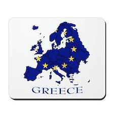 European Union - Greece Mousepad