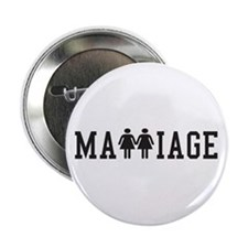 """Pro Gay Marriage - Women 2.25"""" Button (100 pack)"""