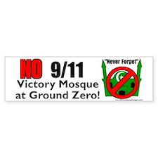 Ground Zero Mosque Bumper Bumper Sticker