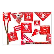 Danger, Mines! Postcards (Package of 8)