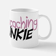 Geocaching Junkie - Pink Mug
