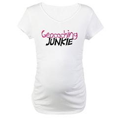 Geocaching Junkie - Hot Pink Shirt