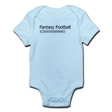 Like Fantasy Football Infant Bodysuit