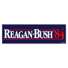 Reagan Bush '84 Campaign Car Sticker