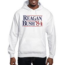Reagan Bush '84 Campaign Jumper Hoody
