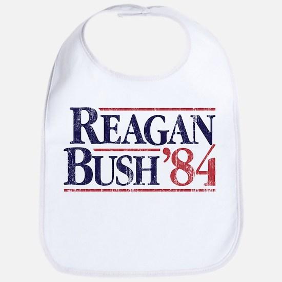 Reagan Bush '84 Campaign Bib