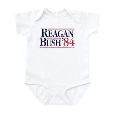 Reagan Bush '84 Campaign Infant Bodysuit