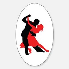 Dancers1 Sticker (Oval)