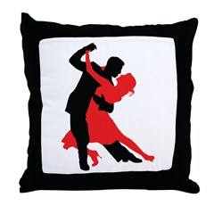 Dancers1 Throw Pillow