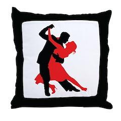 Dancers1 Throw Pillow