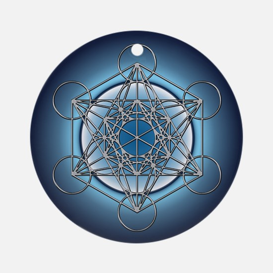 Metatrons Cube Ornament (Round)