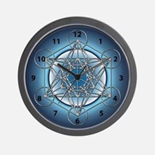 Metatrons Cube Wall Clock