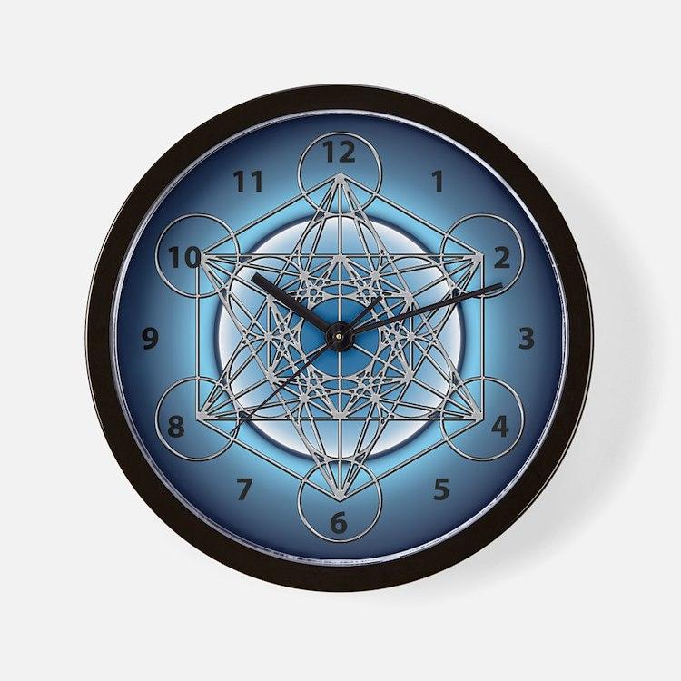 Metatrons Cube Wall Clock