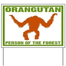 Person of the Forest Yard Sign
