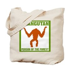 Person of the Forest Tote Bag