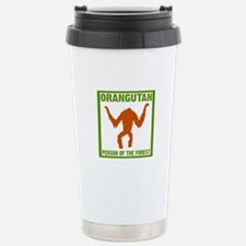 Person of the Forest Stainless Steel Travel Mug