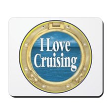 I Love Cruising Mousepad