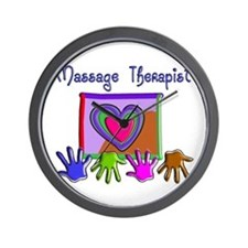 Massage Therapy Wall Clock