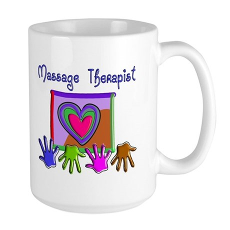 Massage Therapy Large Mug