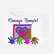 Massage Therapy Greeting Card
