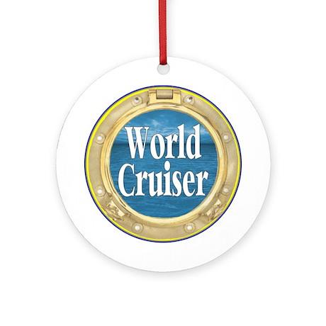 World Cruiser Ornament (Round)