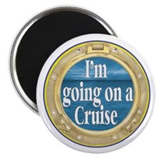 """I'm going on a Cruise 2.25"""" Magnet (100 pack)"""
