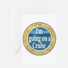 I'm going on a Cruise Greeting Cards (Pk of 10