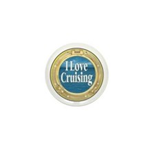 I Love Cruising Mini Button