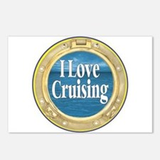 I Love Cruising Postcards (Package of 8)