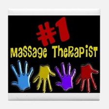 Massage Therapy Tile Coaster
