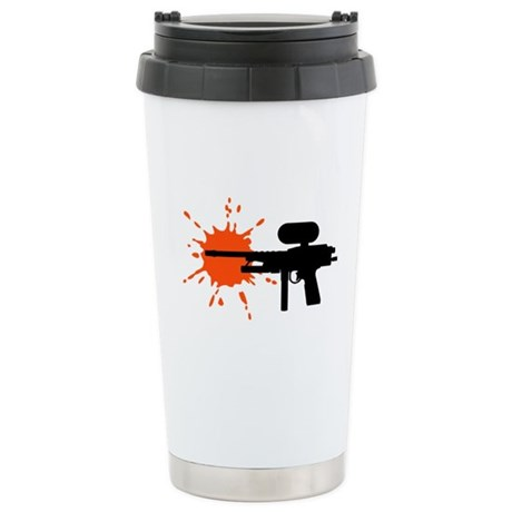 Paintball Stainless Steel Travel Mug