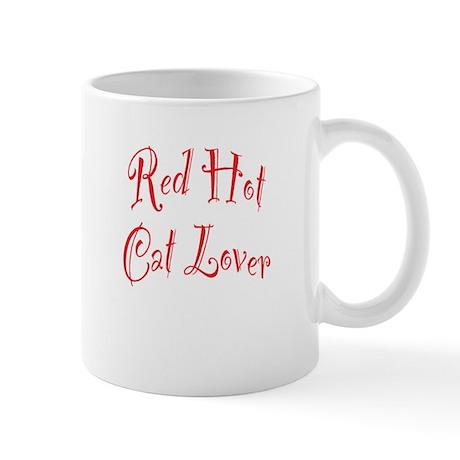 Red Hot Cat Lover Mug