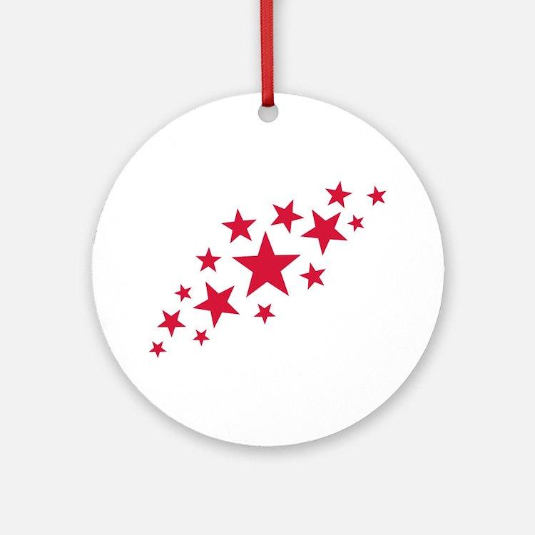 Stars sky Ornament (Round)
