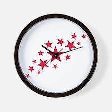 Stars sky Wall Clock