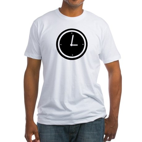 Clock - Time Fitted T-Shirt