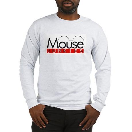 mousejunkies_logo_forcafepress Long Sleeve T-Shirt