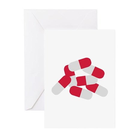 Pills Greeting Cards (Pk of 10)