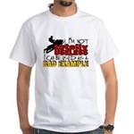 Not Totally Useless - Snowmobiling White T-Shirt