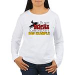 Not Totally Useless - Women's Long Sleeve T-Shirt