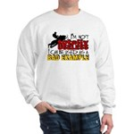 Not Totally Useless - Snowmobiling Sweatshirt