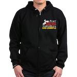 Not Totally Useless - Snowmobili Zip Hoodie (dark)